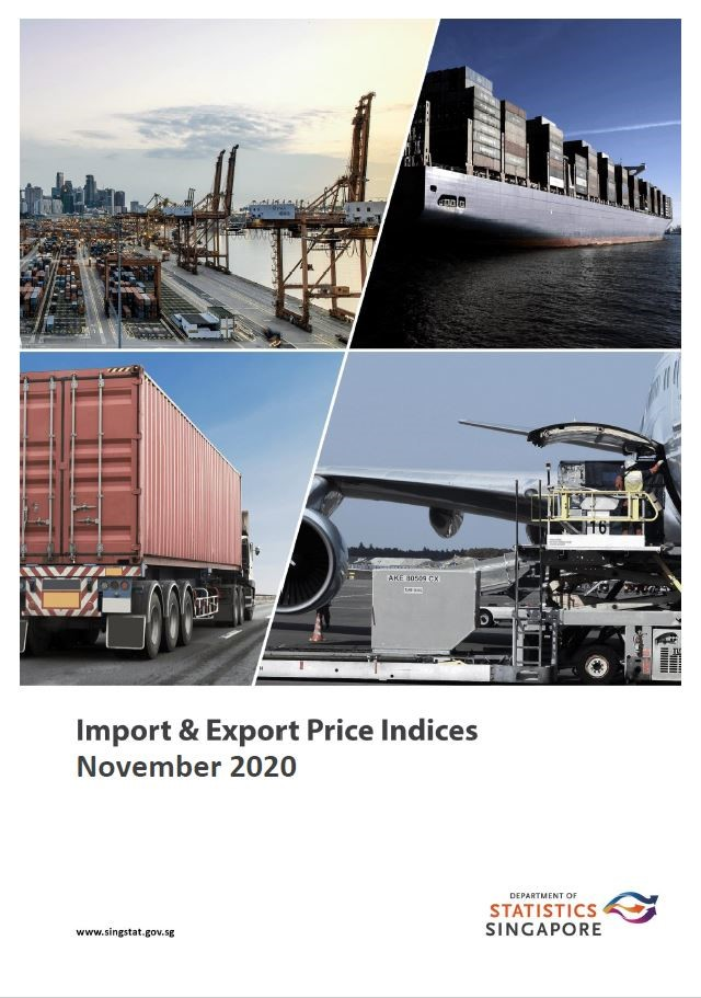 Import & Export Price Indices, Jan 2019